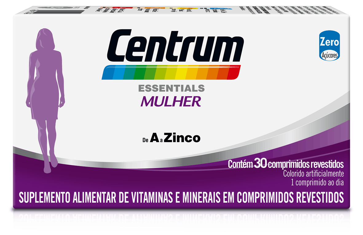 Box of Centrum Essentials Mulher