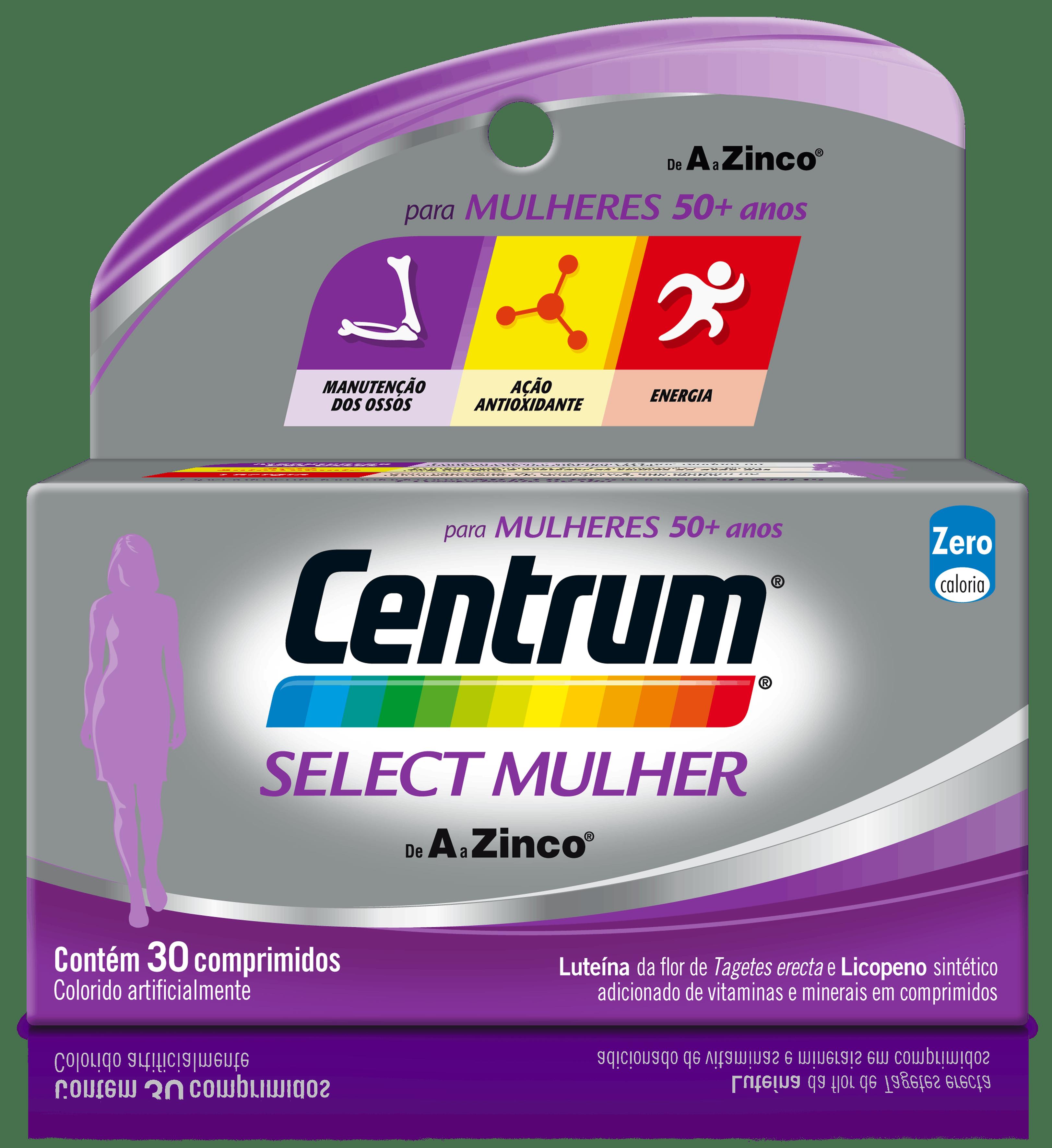 Box of Centrum Select Mulher