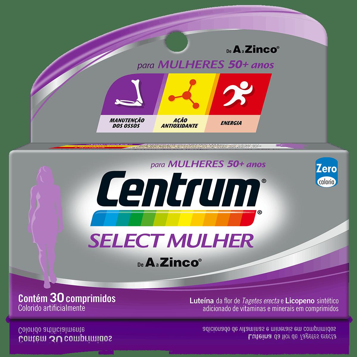 Bottle of centrum Select Homem