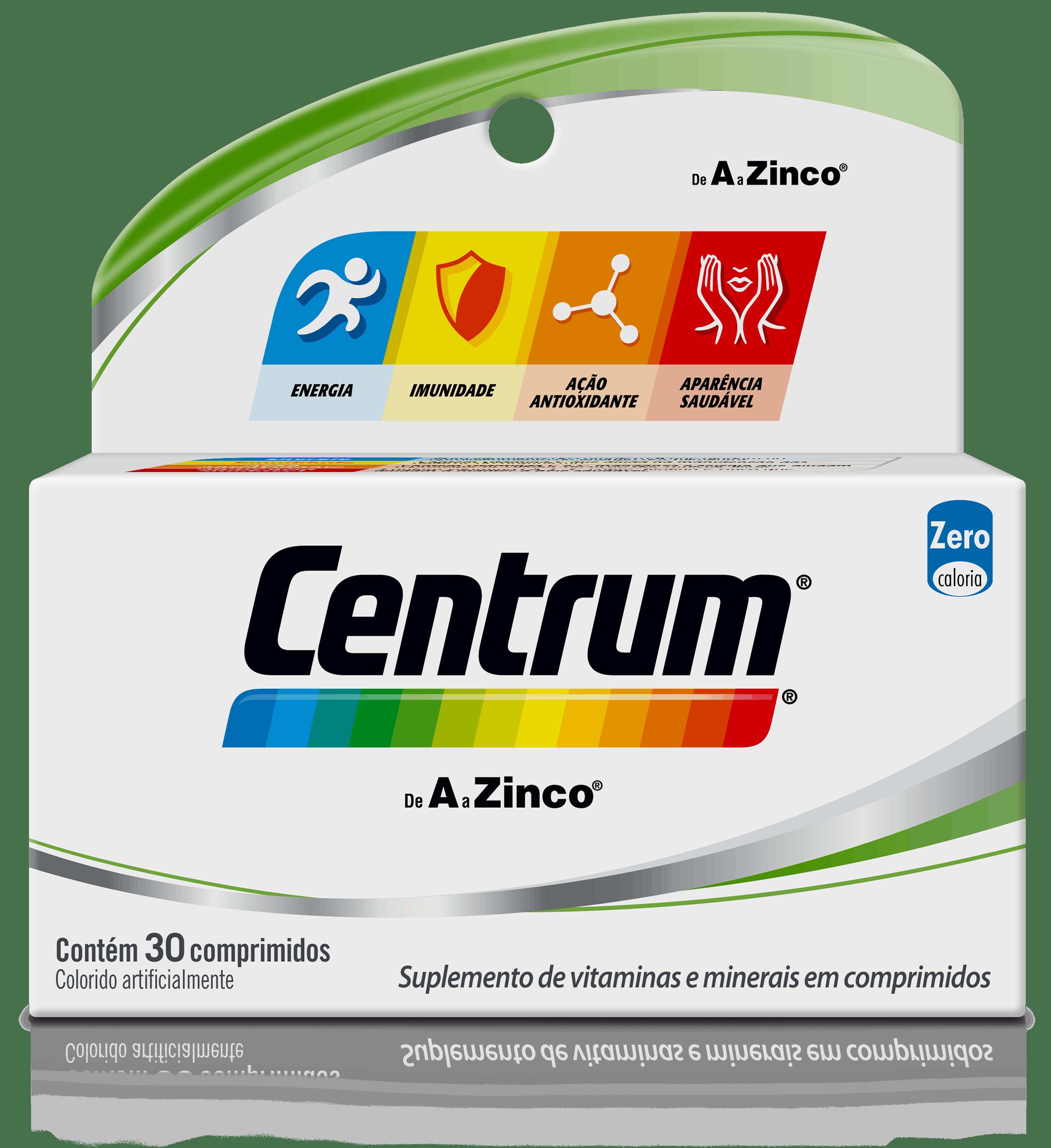 Box of Centrum de A a Zinco