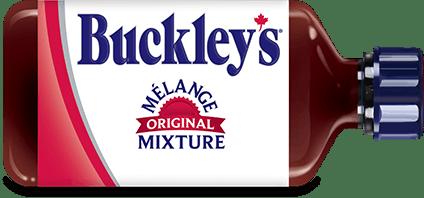 Bottle of Buckley's Original Mixture