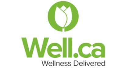 Well.ca Logo | Wellness Delivered