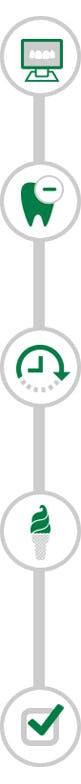 denture timeline icon