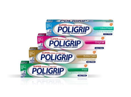 Super Poligrip® Denture Adhesives