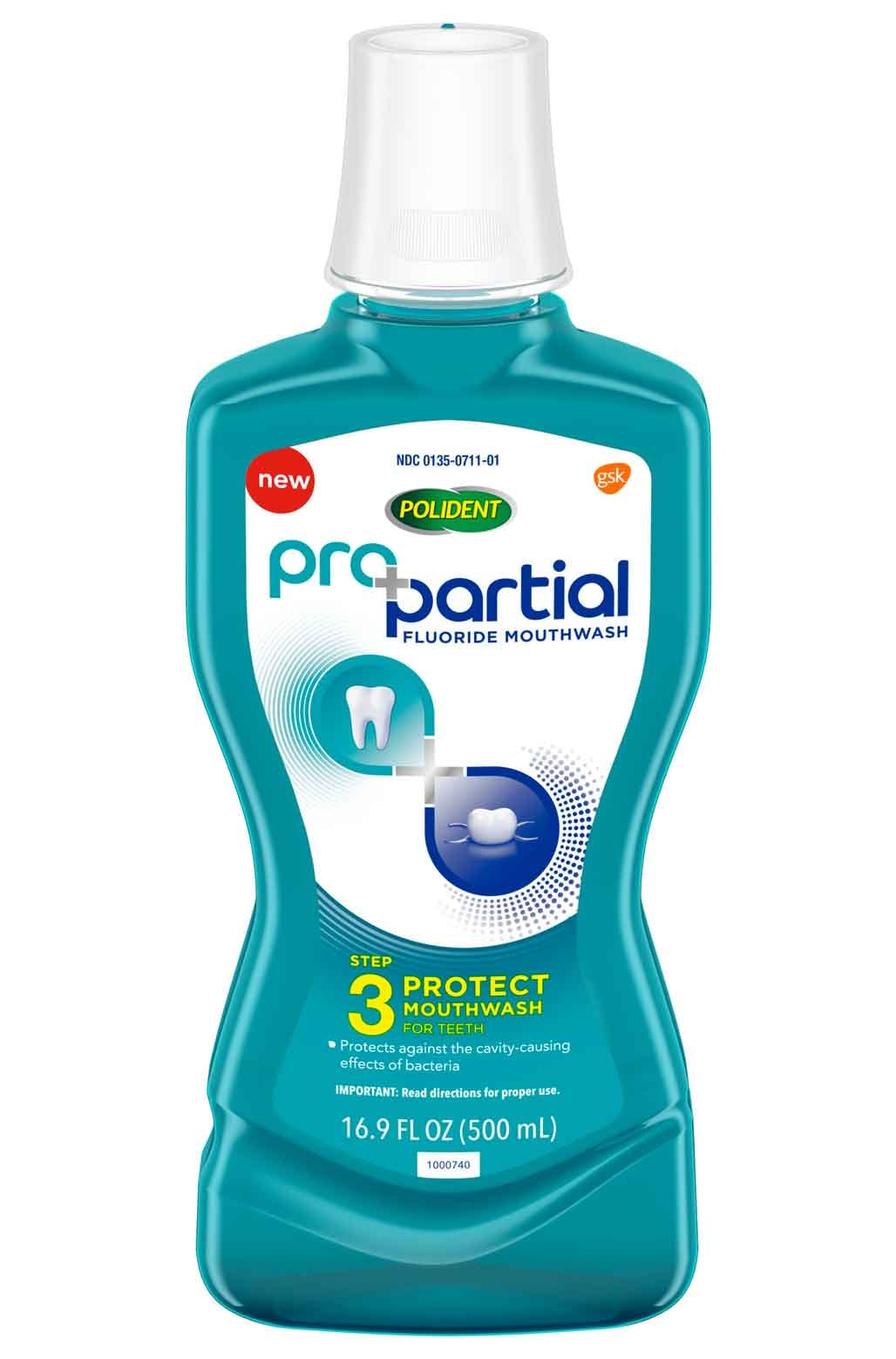 ProPartial flouride mouthwash pack shot
