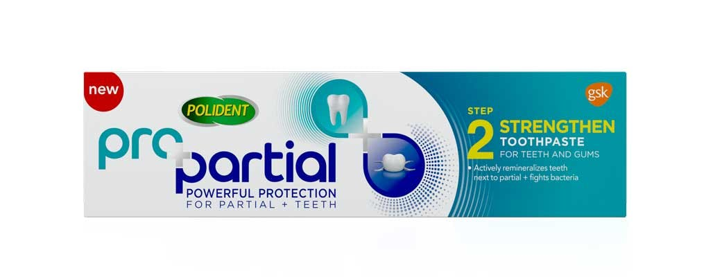 Propartial flouride anti cavity and anti gingivitis toothpaste pack shot