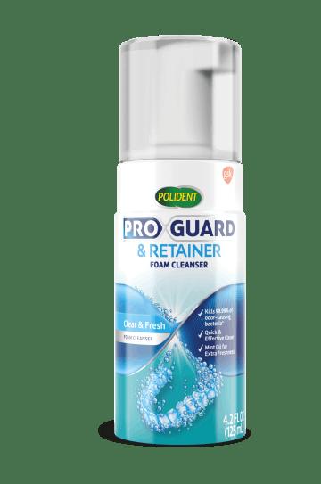 Proguard & retainer foam cleanser pack shot
