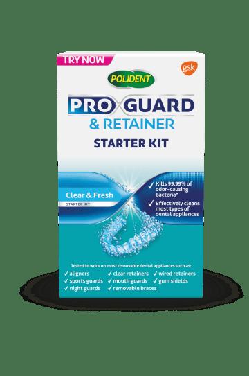 ProGuard & retainer starter kit pack shot