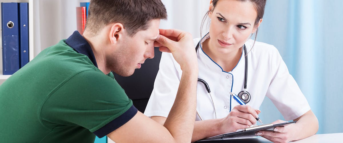 seeking migraine treatment