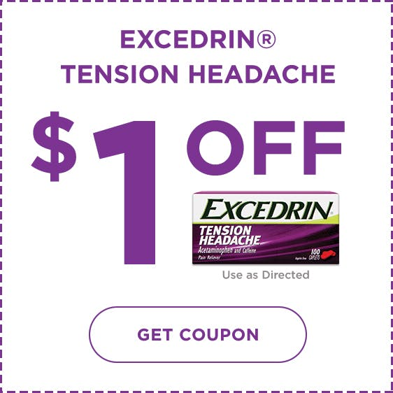 Excedrin Coupon Tension Headache