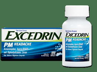 Excedrin® PM Headache Caplets