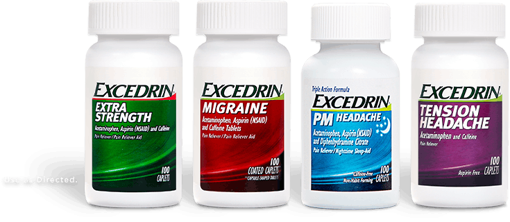 Excedrin Products
