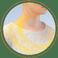 Ikona - maleinian dimetindenu łagodzi objawy związane z alergią, takie jak wysypka, swędzenie skóry, katar sienny lub inne objawy alergicznego nieżytu nosa