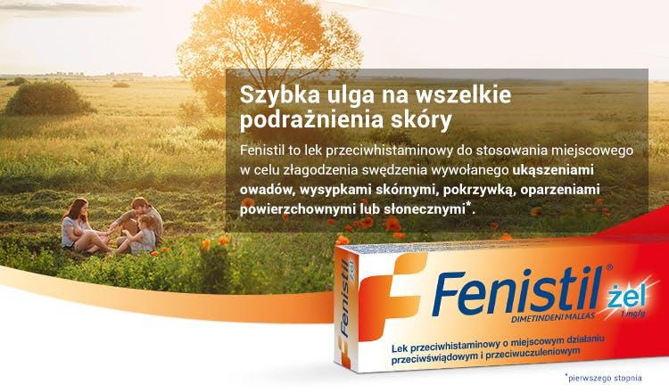 Banner - Fenistil żel