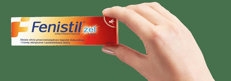 Fenistil żel - opakowanie