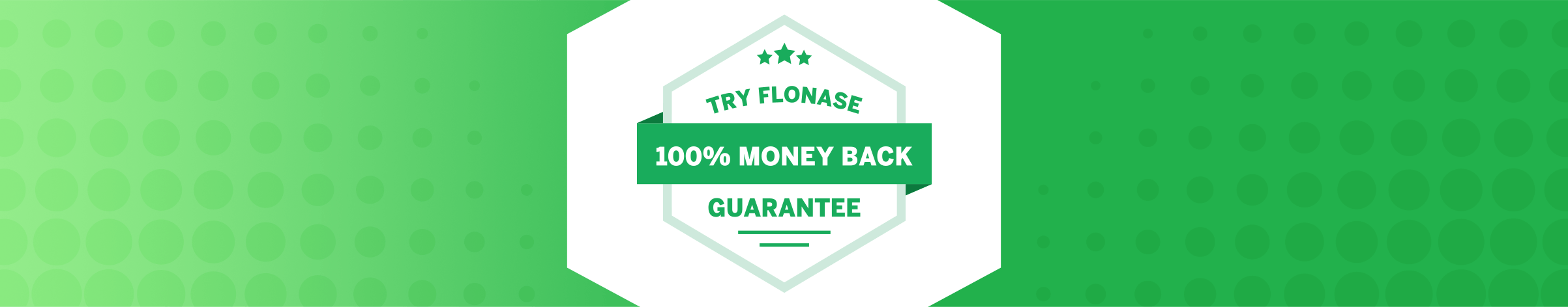 Flonase Money-Back Guarantee