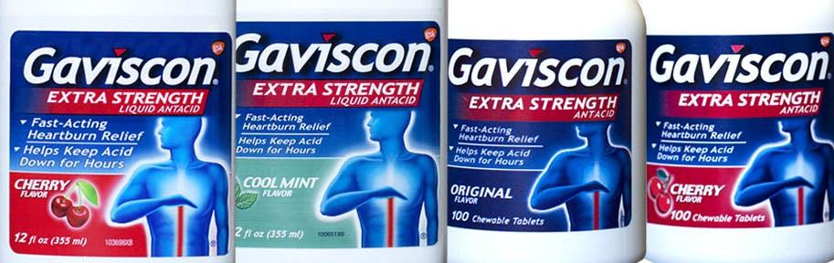 Gaviscon Antacid Products