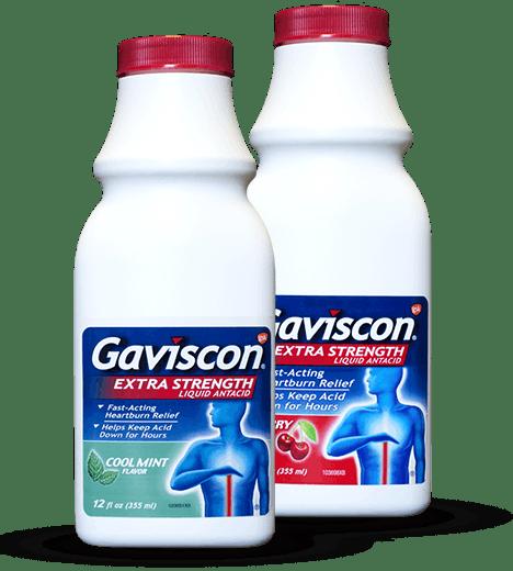 Gaviscon Liquid Bottles