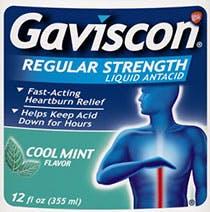Gaviscon Regular Strength Mint
