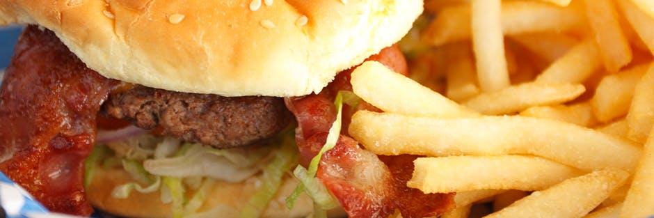 Heartburn Diet Burger Fries Header