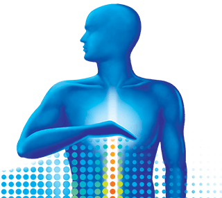 Man With Heartburn Graphic
