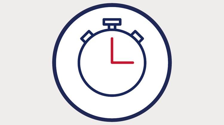 60 Sekunden auf der Uhr