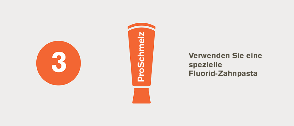 Spezielle Fluorid-Zahnpasta