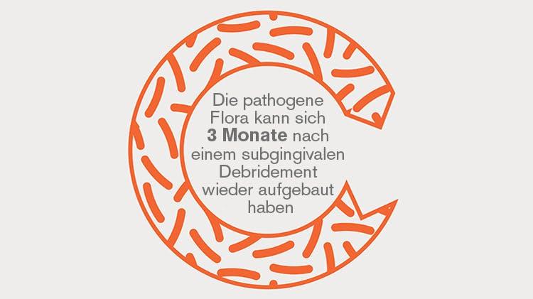 Rekolonisation durch pathogene Bakterien