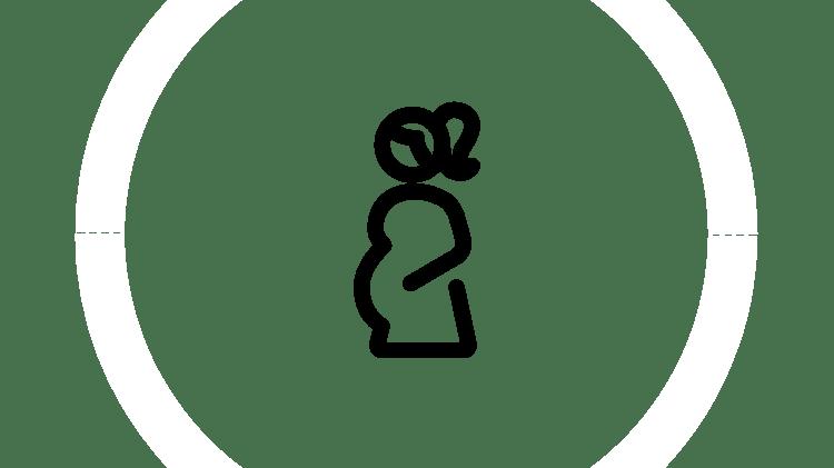 """Symbol """"Schwangerschaft"""""""