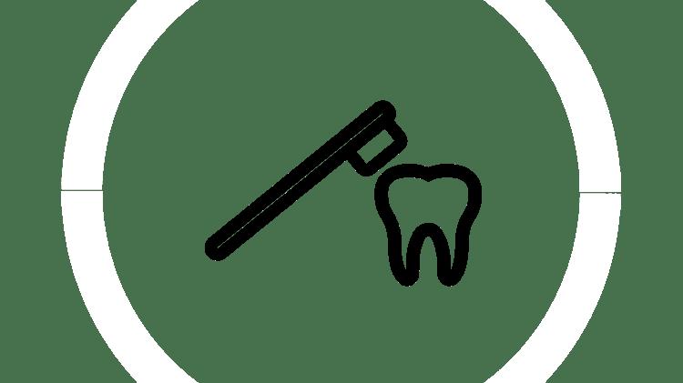 Zahnschmelzabbau Icon