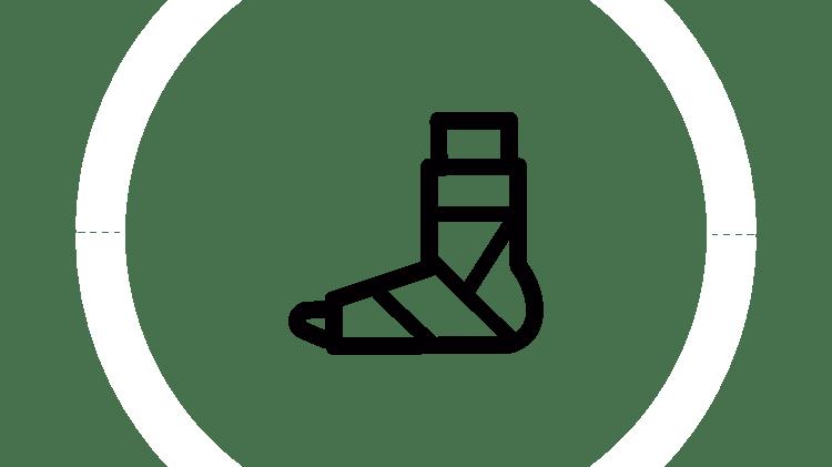 Überblick über Verstauchungen und Zerrungen