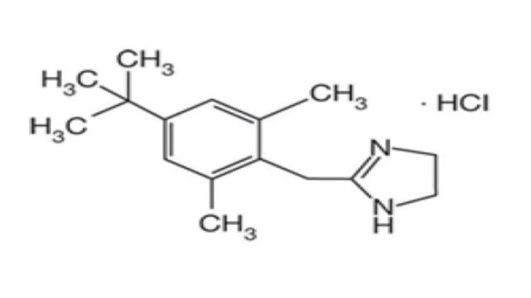 Xylometazoline structure