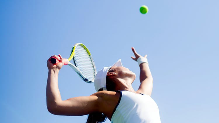 Strains are frequent in people who play sport
