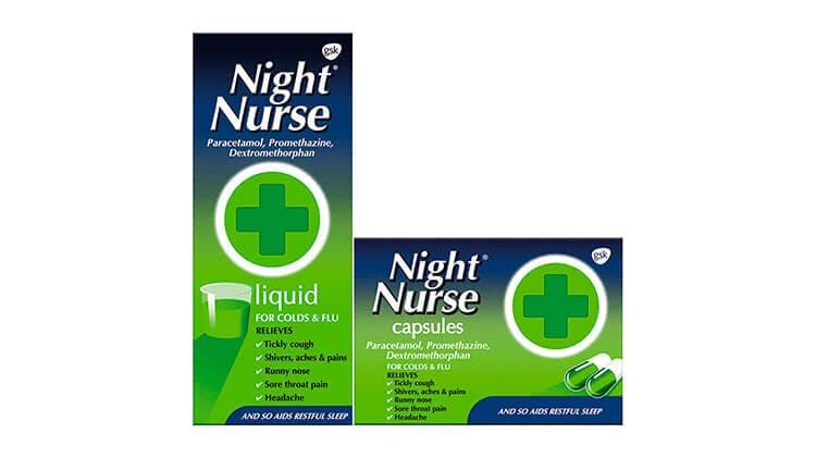 Night Nurse liquid & capsules pack-shots
