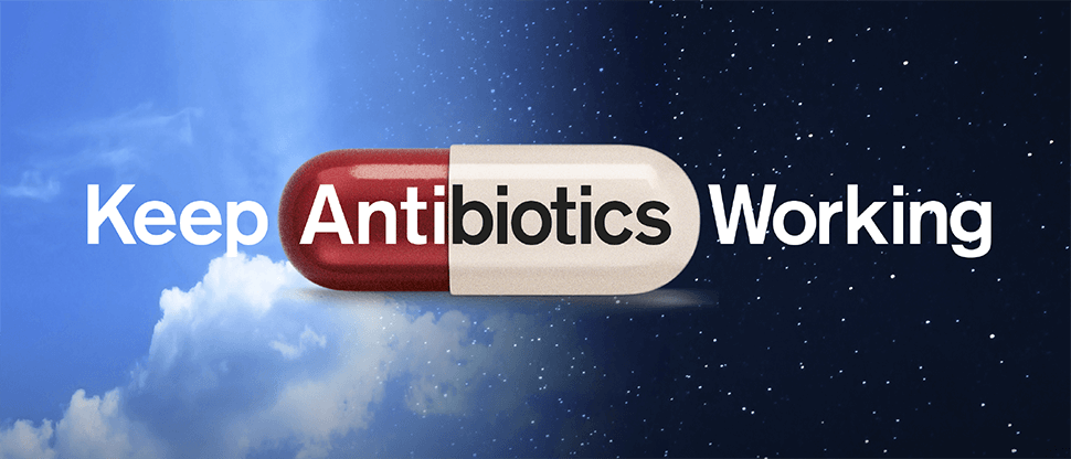 Keep Antibiotics working image