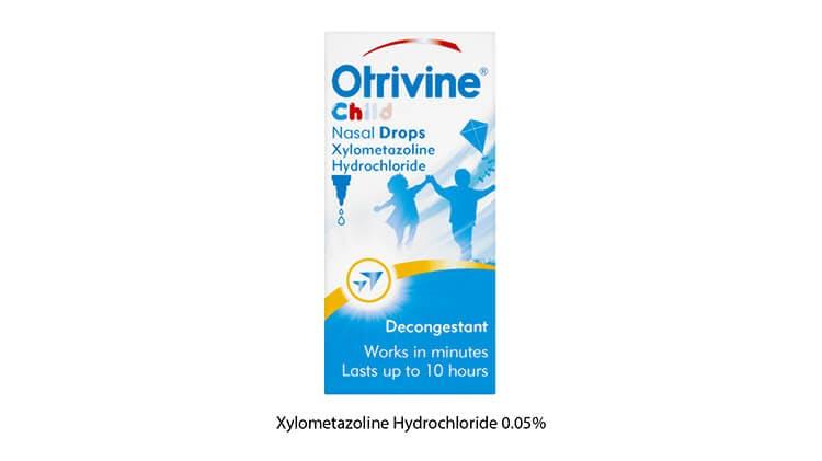 Otrivine Child Nasal Drops