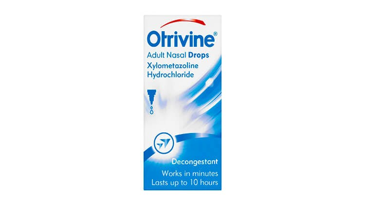Otrivine Adult Drops