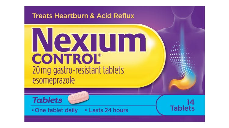 Pack of Nexium Control tablets