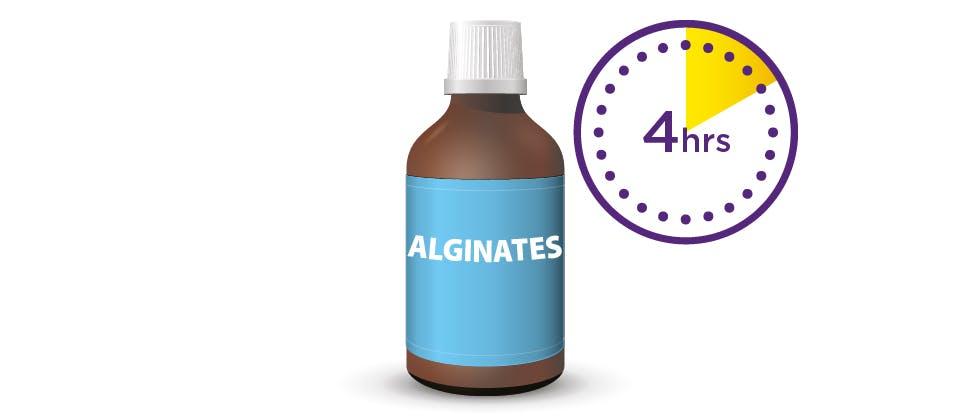 Image of alginates bottle