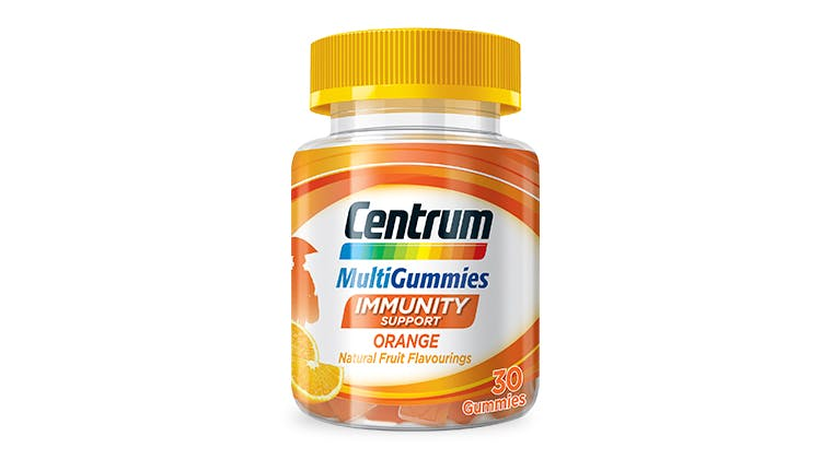 Centrum multivitamin range for immunity