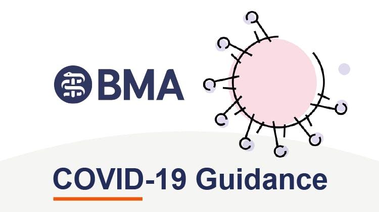 BMA Covid-19 guidance graphic