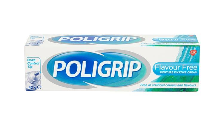 Poligrip flavour-free cream