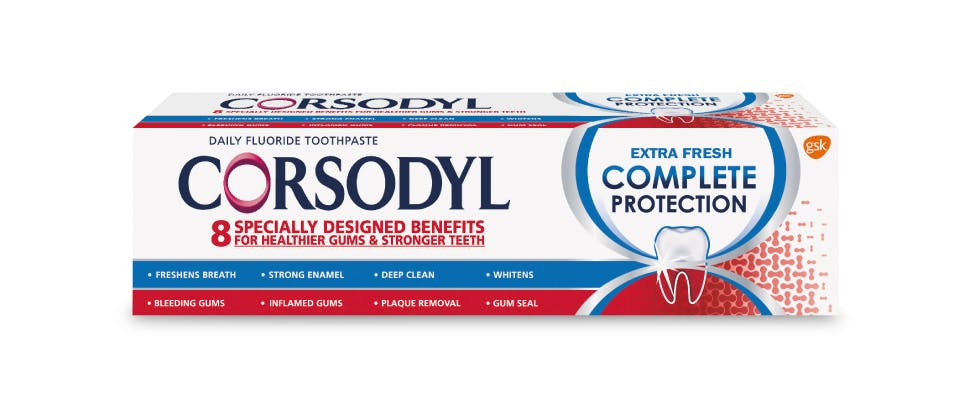 Corsodyl Complete Protection Extra Fresh Toothpaste