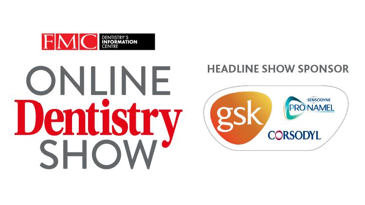 GSK were headline sponsor at the Online Dentistry Show 2020