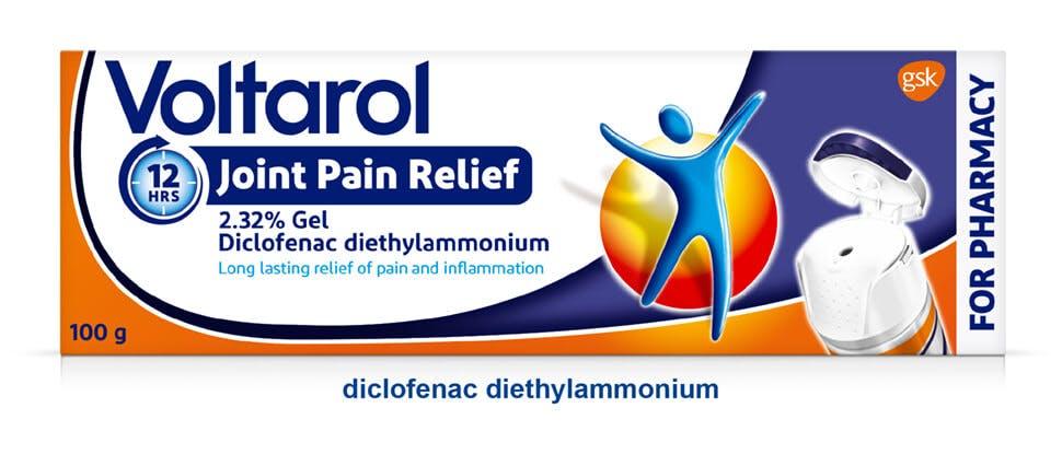 Voltarol 12 Hour Joint Pain Relief 2.32% Gel