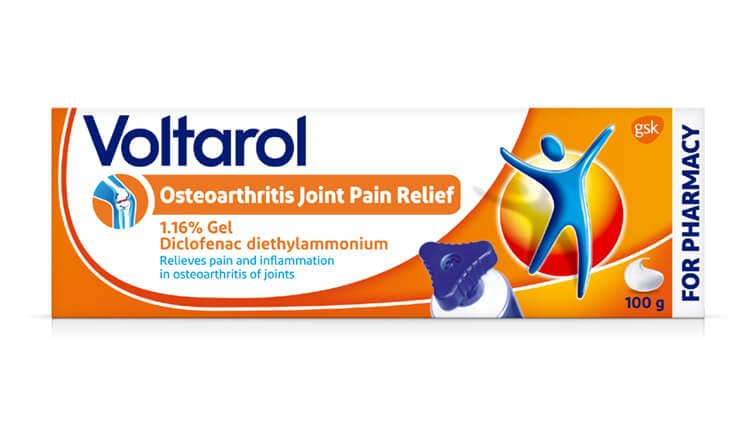 Voltarol Osteoarthritis Joint Pain Relief 1.16% Gel