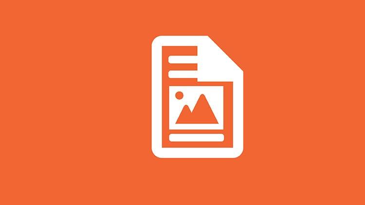 Orange image graphic