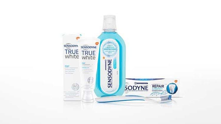 Various Sensodyne Products