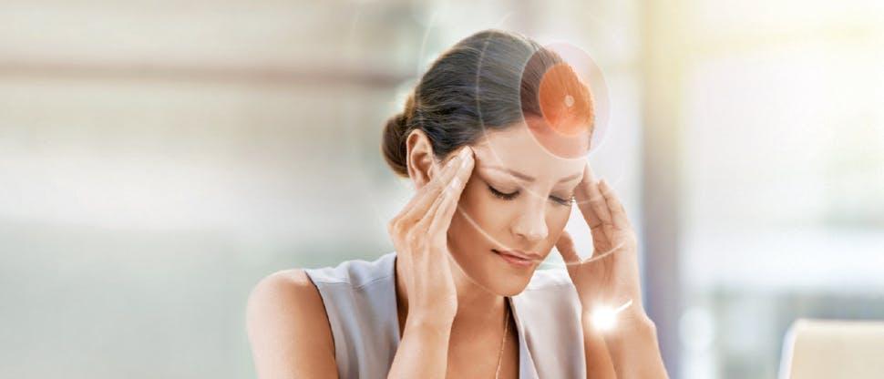Patient with migraine