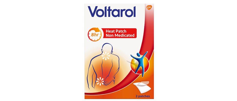 Voltarol heat patch pack